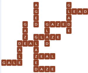 Wordscapes Curve 8 level 18744 answers