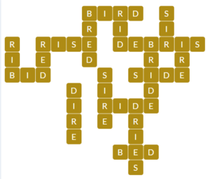 Wordscapes Dawn 11 level 16651 answers