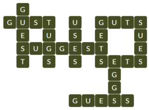 Wordscapes Dawn 2 level 10418 answers