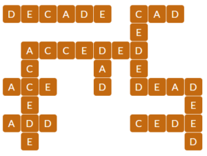Wordscapes Dawn 3 level 16147 answers