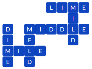 Wordscapes Dry 11 level 13835 answers