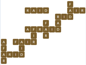 Wordscapes Fall 12 level 16924 answers