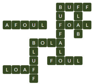 Wordscapes Fall 13 level 15853 answers