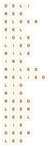 Wordscapes Fit 1 level 9025 answers