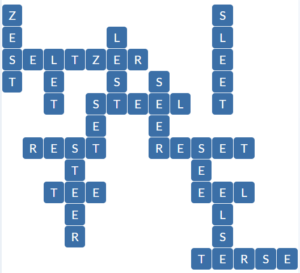 Wordscapes Fit 10 level 17290 answers