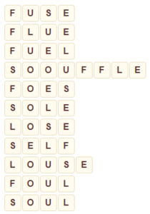 Wordscapes Fit 2 level 9026 answers
