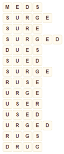 Wordscapes Float 15 level 6879 answers