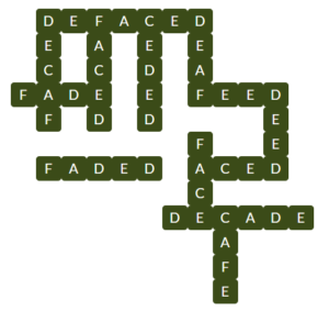 Wordscapes Frond 14 Level 10798 Answers
