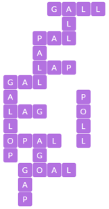 Wordscapes Gift 9 level 16265 answers
