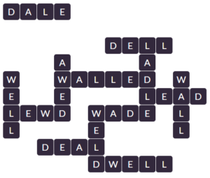 Wordscapes Grass 7 level 18519 answers