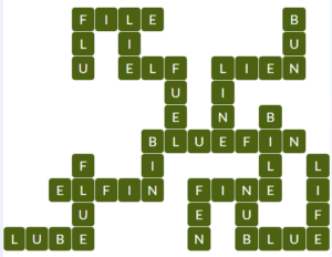 Wordscapes Green 13 level 17245 answers