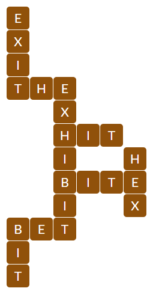 Wordscapes Grove 10 level 19562 answers