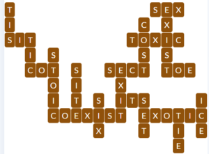 Wordscapes Grove 3 level 15427 answers