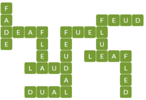 Wordscapes Leaf 5 level 13045 answers