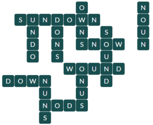 Wordscapes Light 4 level 13348 answers