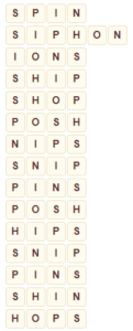 Wordscapes Marsh 8 level 9000 answers