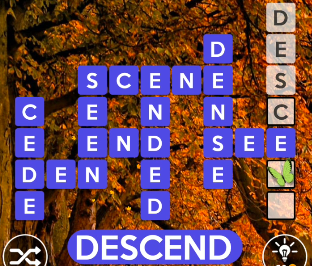 Wordscapes October 15 2020 answers today