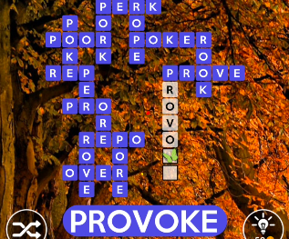 Wordscapes October 20 2020 Answers Today