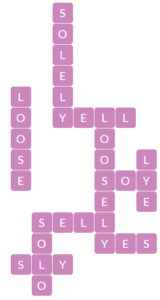 Wordscapes Opal 5 level 19605 answers