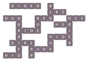 Wordscapes Pebble 13 Level 10909 Answers