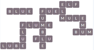 Wordscapes Pebble 3 level 15027 answers