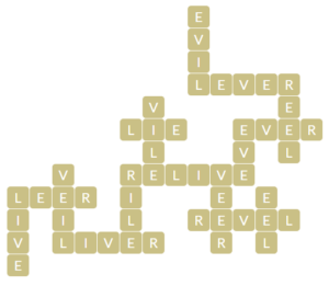 Wordscapes Pebble 5 Level 10965 Answers.