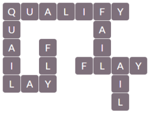 Wordscapes Pebble 5 level 12965 answers