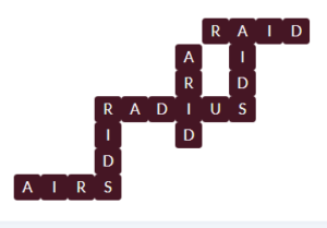 Wordscapes Pyre 11 Level 11611 Answer