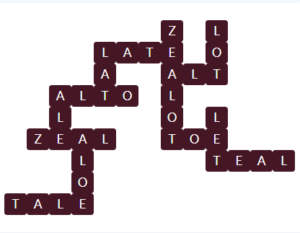 Wordscapes Pyre 12 Level 11612 Answer
