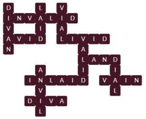 Wordscapes Pyre 5 Level 11605 Answer