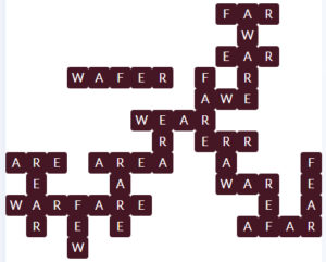 Wordscapes Pyre 9 Level 11609 Answer