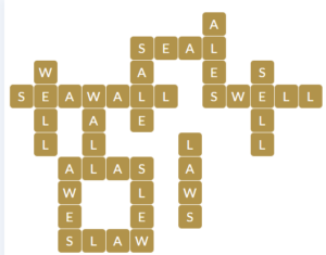 Wordscapes Ray 4 level 17364 answers
