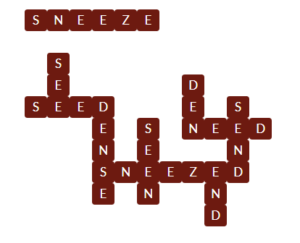 Wordscapes Red 4 Level 11620 Answer