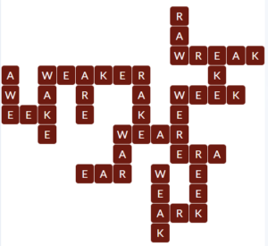 Wordscapes Red 8 level 19880 answers
