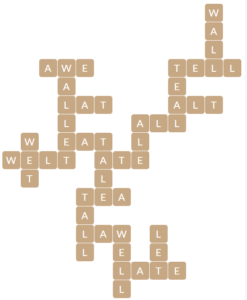 Wordscapes Ripple 6 level 19766 answers