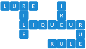 Wordscapes River 12 level 19004 answers