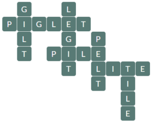 Wordscapes River 7 level 16327 answers
