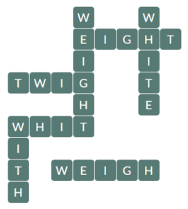 Wordscapes River 8 Level 14264 Answers