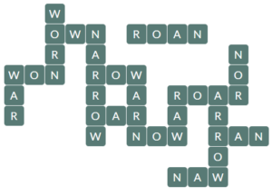 Wordscapes River 8 level 10136 answers