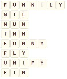 Wordscapes Seed 2 level 7698 answers
