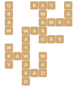 Wordscapes Shell 12 level 17612 answers