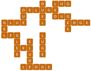 Wordscapes Sierra 10 Level 14218 Answers