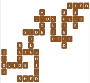 Wordscapes Sky 13 level 17981 answers
