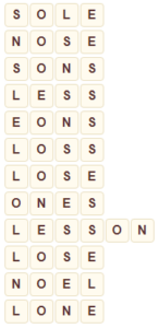 Wordscapes Snow 13 level 8973 answers