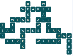 Wordscapes Sol 13 level 18589 answers