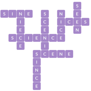 Wordscapes Spire 5 level 10341 answers