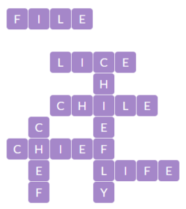 Wordscapes Spire 7 Level 14471 Answers