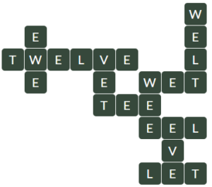Wordscapes Spire 9 level 10233 answers