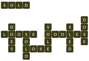 Wordscapes Thick 6 level 19110 answers