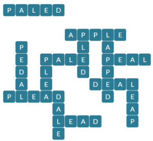 Wordscapes Up 7 Level 14375 Answers